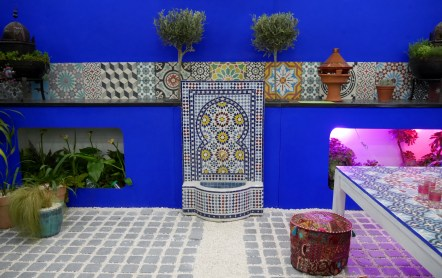Small garden competition entry Ideal home Show 2016