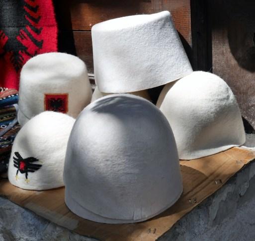 albanian-hats-kruja-market