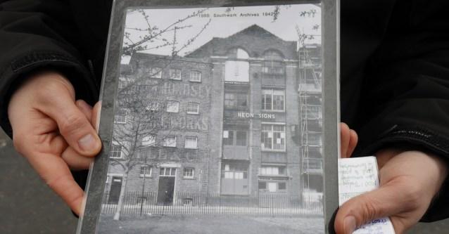 Bermondsey Mesh & Wire Works in 1988