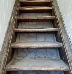 Victorian stairway Iliffe Yard