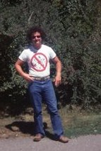 Me in my No Nukes Shirt...1979