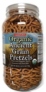 Wege of Hanover - Organic Ancient Grains Spelt Pretzels, 28oz barrel
