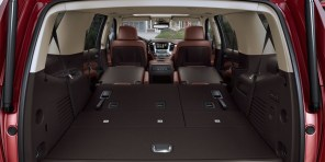2015 Chevrolet Tahoe Interior featuring Power Fold Flat Seats