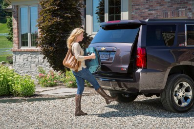 2015 Chevrolet Tahoe hands-free power lift gate.