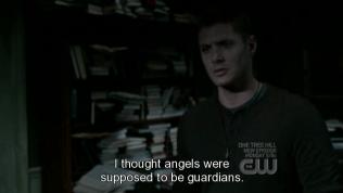 """""""Tôi nghĩ thiên thần lẽ ra là những đấng hộ mệnh mà."""" - mọi người luôn nghĩ như thế ~"""