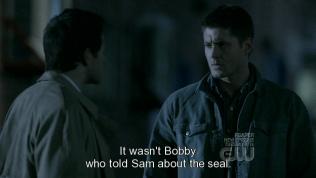 """""""Người nói cho Sam biết về phong ấn cũng không phải là Bobby."""""""