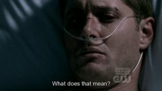 """""""Như thế nghĩa là sao?"""" - Dean không biết mình cần phải làm gì, anh hỏi Cas."""
