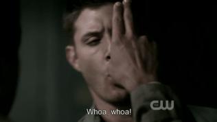 Chuẩn bị dịch chuyển thì Dean ngăn lại!