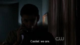 """""""Đúng vậy."""" Cas đáp qua điện thoại."""