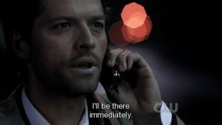 """""""Tôi sẽ đến đó ngay lập tức."""" Cas đang chuẩn bị dịch chuyển tức thời thì..."""