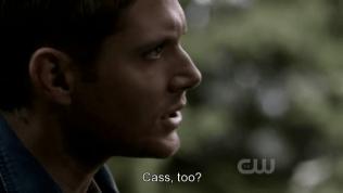 """""""Cả Cas sao?"""" - Trọng điểm là ở đây, Cas được tách riêng ra khỏi """"friends"""", cho thấy Dean luôn coi Cas ở một mức độ đặc biệt quan trọng hơn """"bạn / đồng đội"""""""
