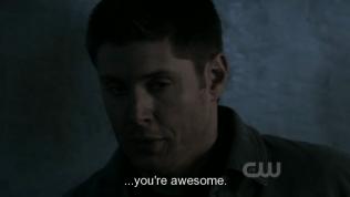 """Đến cả Dean cũng nhịn không được mà khen, """"Cháu ngầu quá!"""""""