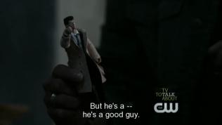 """Dean bào chữa cho Cas, """"Nhưng anh ta -- anh ta là một người tốt."""""""