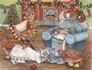 Twas The Night Before Christmas - Available in the Christmas Series.