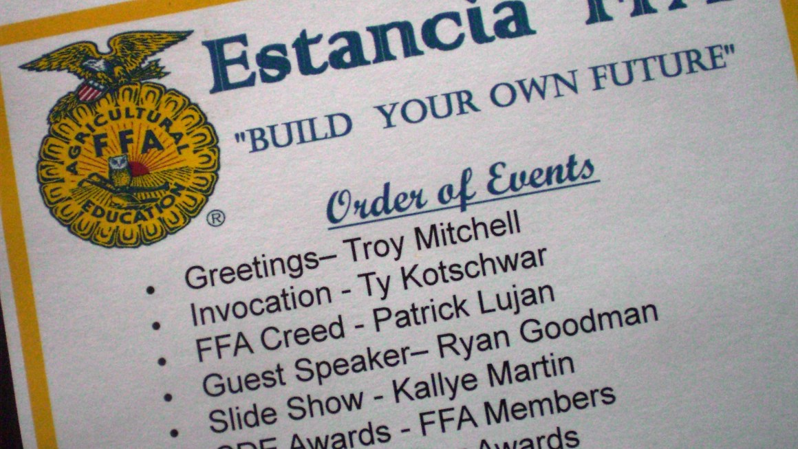 Sharing My Passion With New Mexico FFA Students