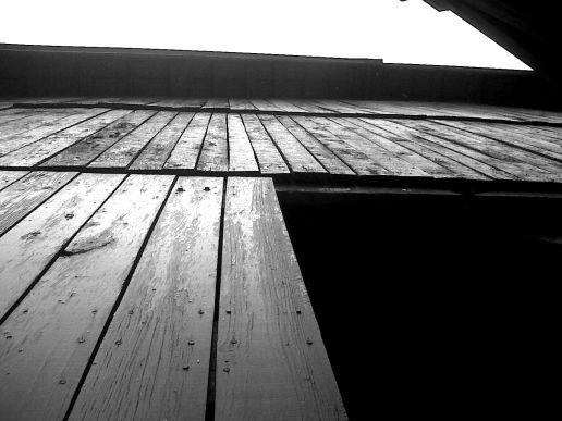 Farmer's Creed poem old barn door