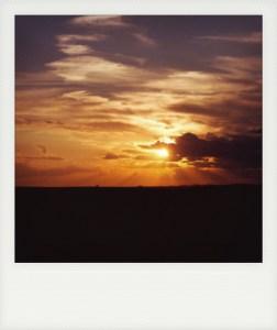 North Dakota sunset