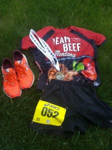 Team Beef made it to the finish.