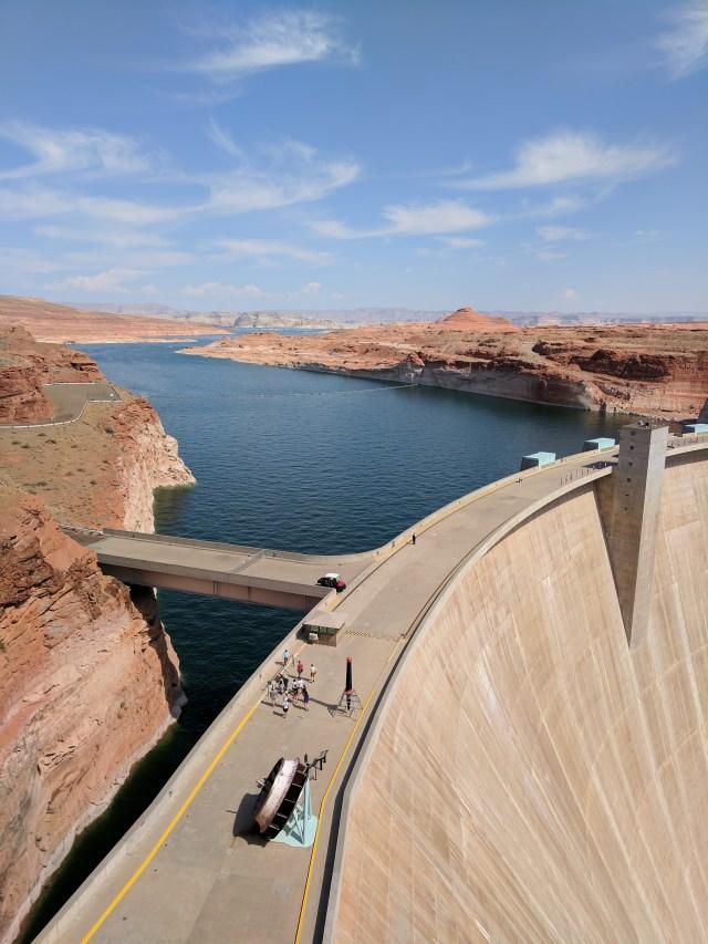 Colorado River Dam
