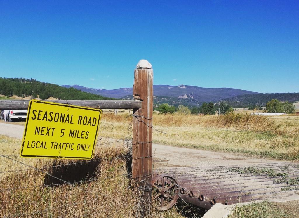 montana ranch run seasonal road running
