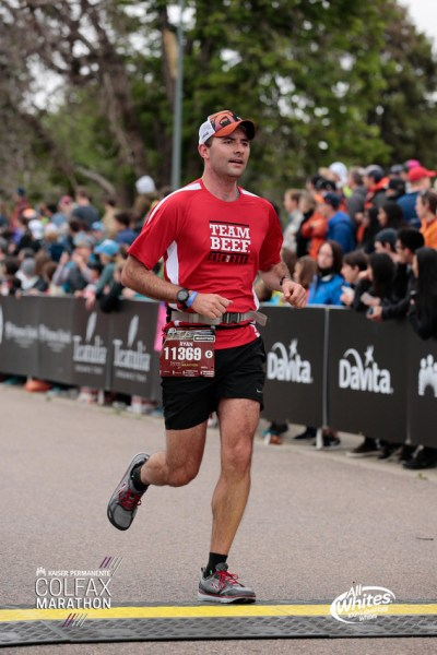 2018 Denver Colfax Marathon Finish Photo