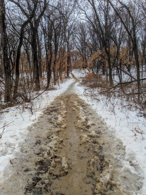 psycho wyco 50k trail ice