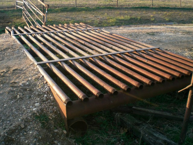 steel cattle guard