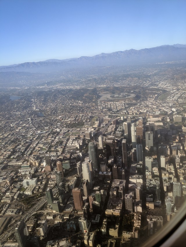 los angeles downtown desert