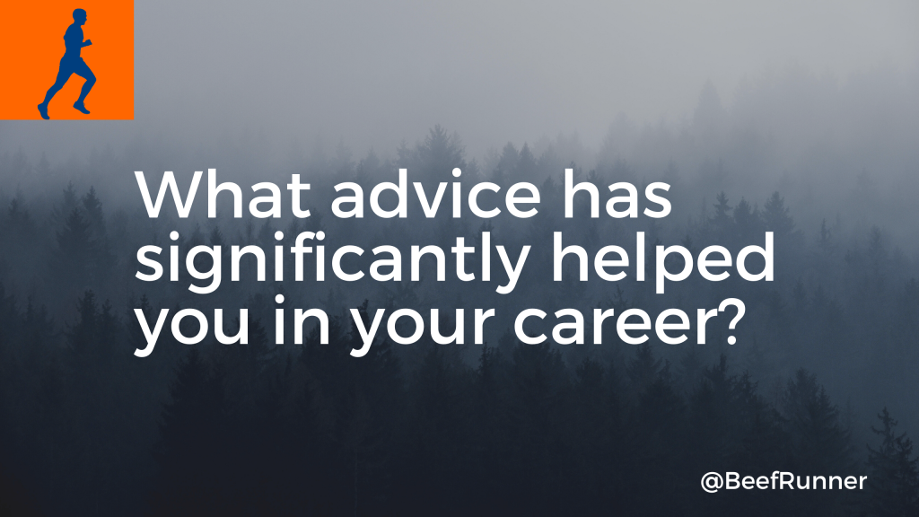 career advice young professional