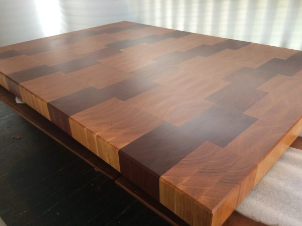 wood with oil