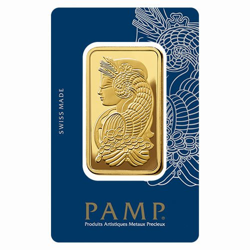 Gold bar 50g PAMP