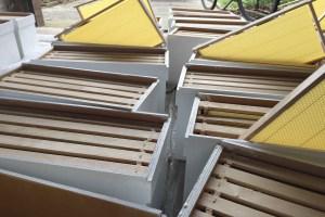 BeeHappy Bienenbox mit Rähmchen
