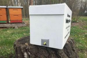 BeeHappy Bienenbox von vorne