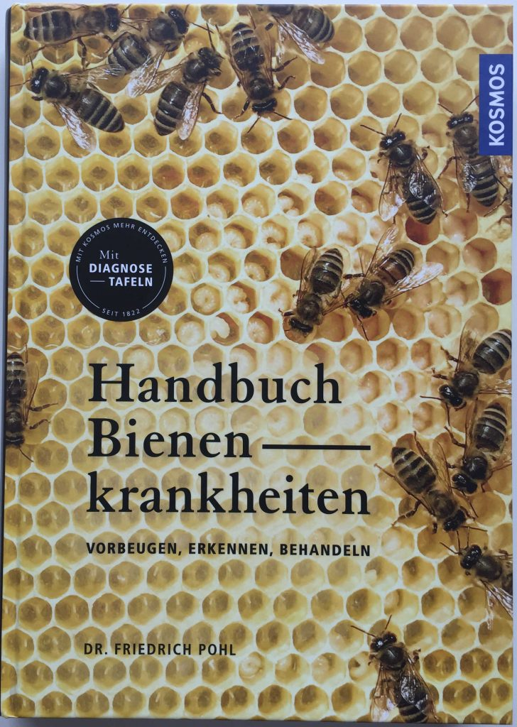Coverbild Handbuch Bienen Krankheiten - Dr. Pohl