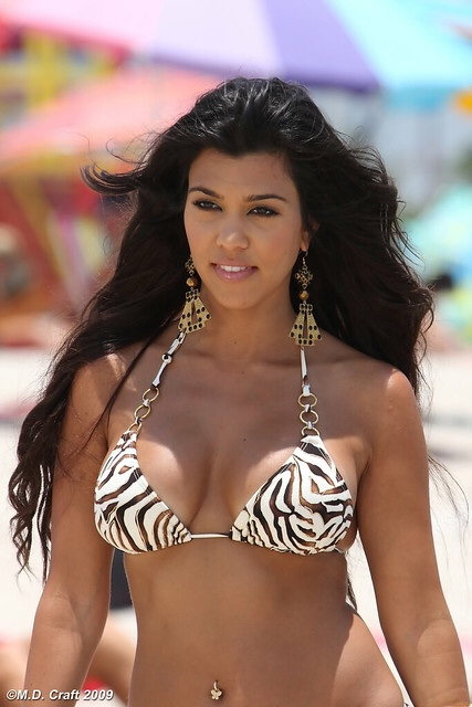 Reality TV star Kourtney Kardashian is a cast member of the show Keeping Up With the Kardashians