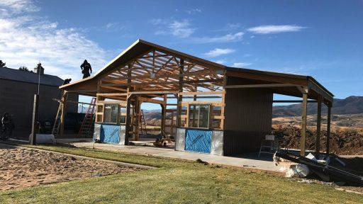 Pole Barn Garage - Beehive Buildings - Cody