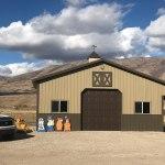 Pole Barn Garage - Beehive Buildings - 30'x24'x12'