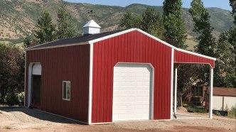 Pole Barn Storage - Beehive Buildings - 24'x40'x16'