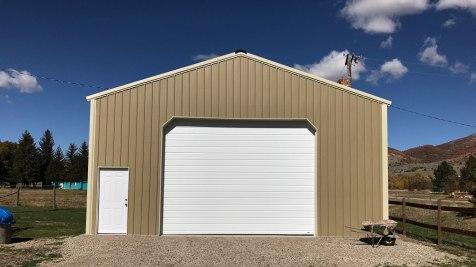 Pole Barn Garage - Beehive Buildings - 30'x 36'x14'