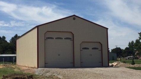 Pole Barn Garage - Beehive Buildings - 30'x60'x16'