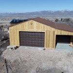 Pole Barn Workshop - Beehive Buildings - 28'x30'x12'