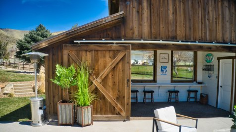 Pole Barn Pool House - Beehive Buildings - 30x10x14