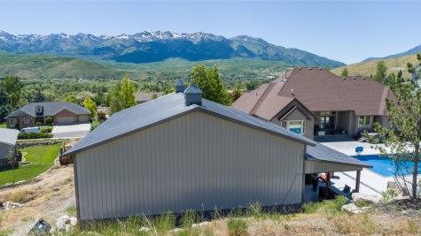Pole Barn Pool House & Garage - Beehive Buildings - 40x50x15