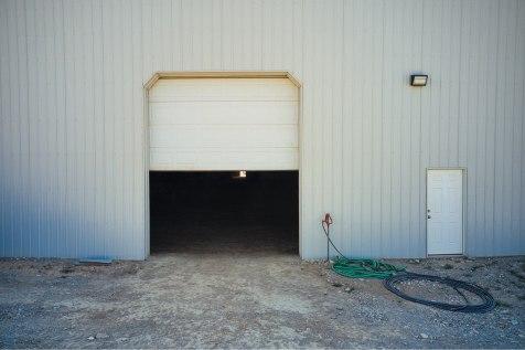Doors, Ellen's Pole Barn Horse Riding Arena - Beehive Buildings - 90x200x16