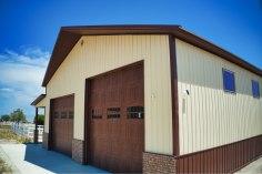 Gary's Pole Barn Garage - Beehive Buildings - 40x50x16