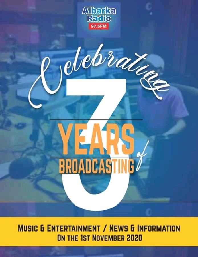 Albarka Radio Celebrates 3 Years Anniversary Today!