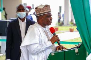 PDP Governors Beehived the new Bauchi Gov't House Annex