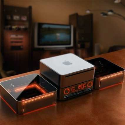 Apple Dock Radio pour Mac Mini