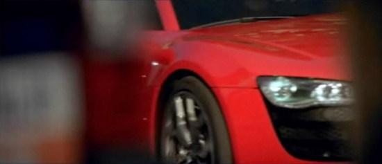 Publicité, Audi R8 à Maranello