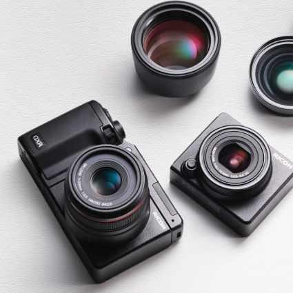 Ricoh GXR, un nouvel appareil photo compact révolutionnaire